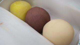3色だんごの言問団子本店@向島, 東京; Kototoi Dango@Mukojima, Tokyo